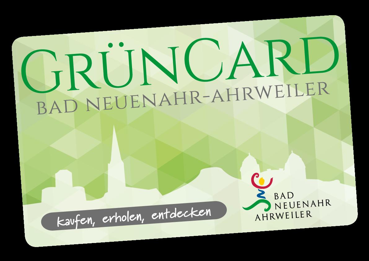 Wir sind Grüncard Partner